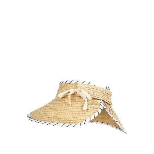 Seafolly Visor Cap aus Stroh