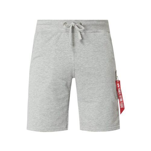 alpha industries Sweatshorts mit Reißverschlusstasche