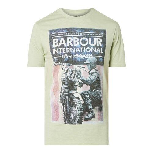 Barbour International™ Barbour International x Steve McQueen™ T-Shirt aus Baumwolle