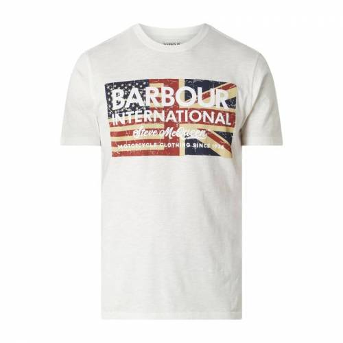 Barbour International™ Barbour International x Steve McQueen™ T-Shirt mit Logo-Print