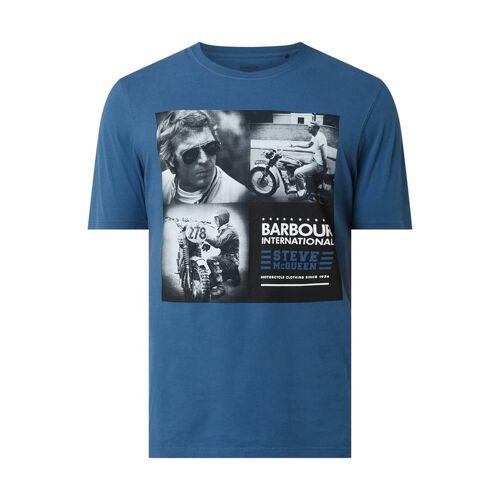 Barbour International™ Barbour International x Steve McQueen™ T-Shirt mit Print
