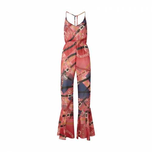 Guess Jumpsuit aus Chiffon mit Allover-Muster