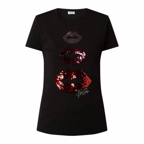 Liu Jo Jeans T-Shirt mit Wendepailletten