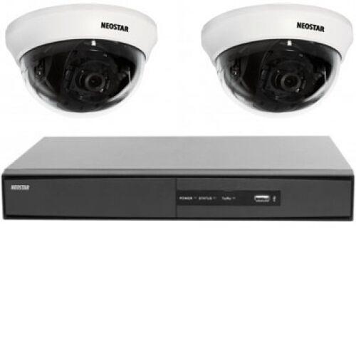 Video Überwachungssystem 2xMini Dome-Kamera, DVR