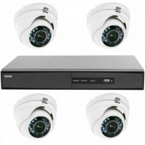 Videoüberwachung System mit Farb Mini IR Dome Überwachungskamera