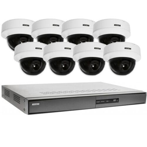 Videoüberwachung System 8xDome Überwachungskamera 600TVL