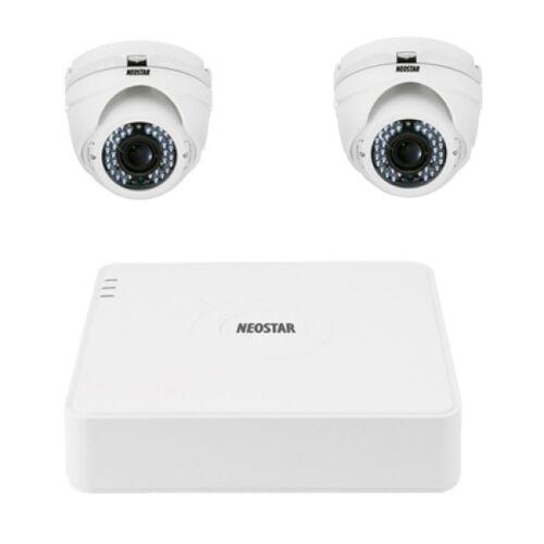 Video Überwachungssystem mit IR Dome-Kamera 600TVL