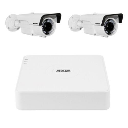 Video Überwachungssystem mit Farb Überwachungskamera 600TVL