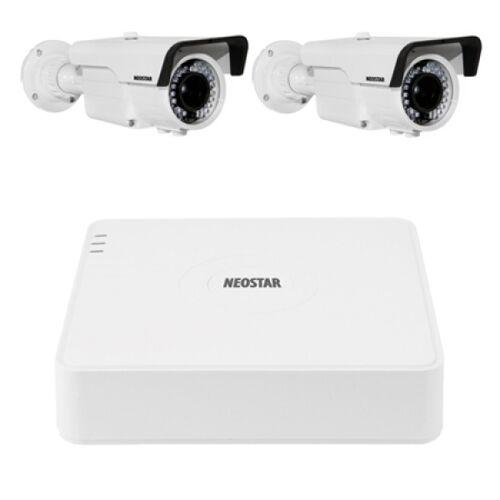 Video Überwachungssystem mit Farb Überwachungskamera 720TVL