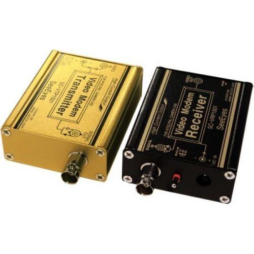 Samsung SeeEyes Video-/Strom-Übertragungsset bis 1km-SC-VCP1501