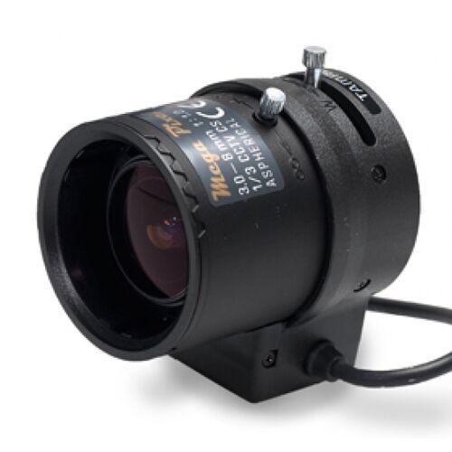1.3 Megapixel Auflösung,Variofokalobjektiv mit 3~8mm Brennweite