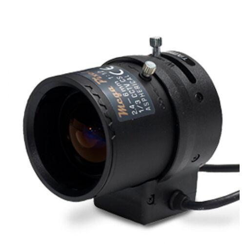 1.3 Megapixel Auflösung,Variofokalobjektiv mit 2,4~6mm Brennweite