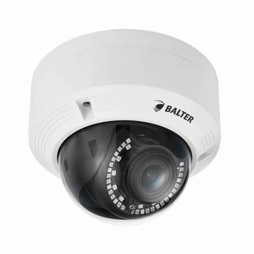 BALTER 2.0MP IR IP Dome-Kamera, 2.8-12mm, Nachtsicht 30m, WDR 120dB, IP66