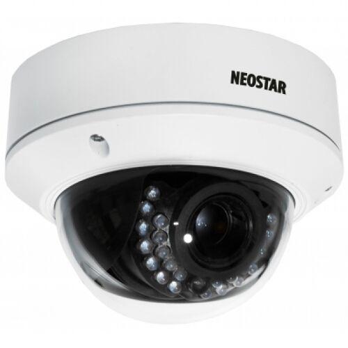 NEOSTAR 2.0MP Infrarot IP Dome-Kamera, 2.7-12mm Motorzoom -NTI-D2014MIR
