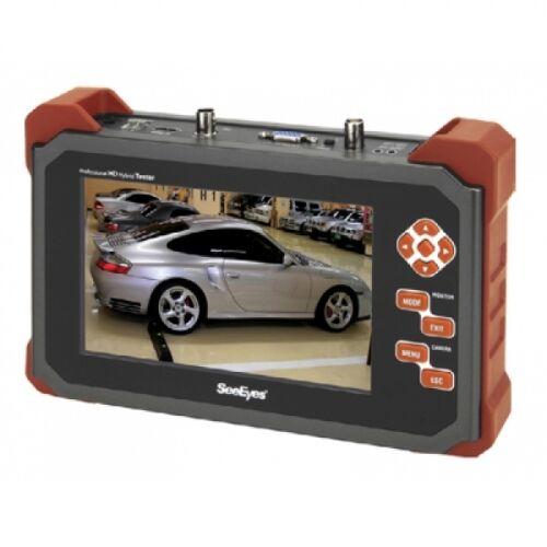 "SeeEyes 7"" Testmonitor für HD-SDI, EX-SDI, Analog HD, HD-CVI, HD-TVI, Analog, RS-485, Audio, Akku-SC-MFM07HD"