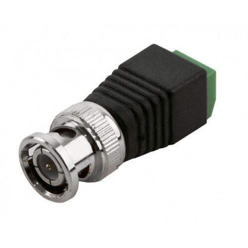 Adapter von BNC-Stecker (Koaxialkabel) auf 2-Draht-Kabel
