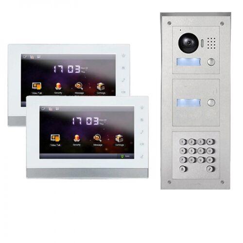 IP Türklingel mit Kamera für 2-Familienhaus mit Code-Funktion