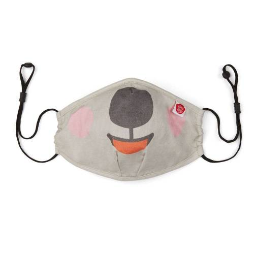 Affenzahn   Mund Nasen Maske Koala   AFZ-FAM-001-029 grau, 1