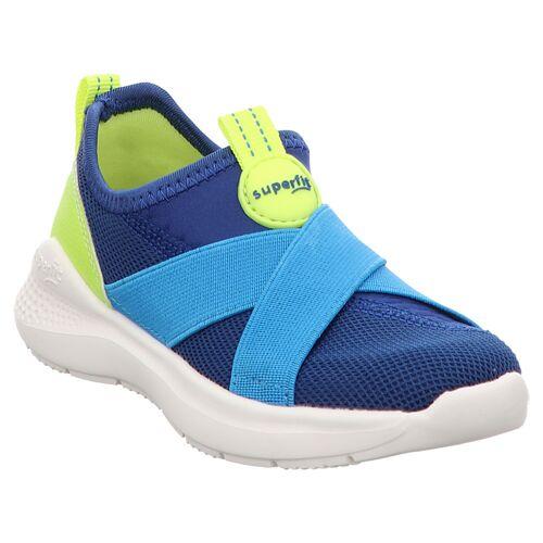 Superfit   Flash   1-000310   Hausschuh   Sneaker 38, blau   gelb