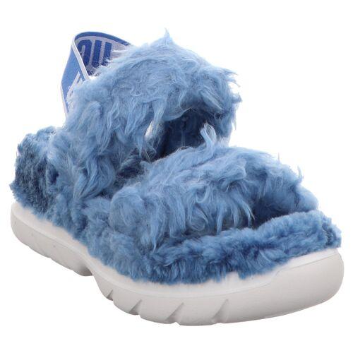 UGG   W Fluff Sugar Sandal   1119999   Sandale   Hausschuh blau, 41