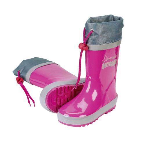 Sterntaler   5652070   Kinder Gummistiefel   Outdoor rosa, 21/22
