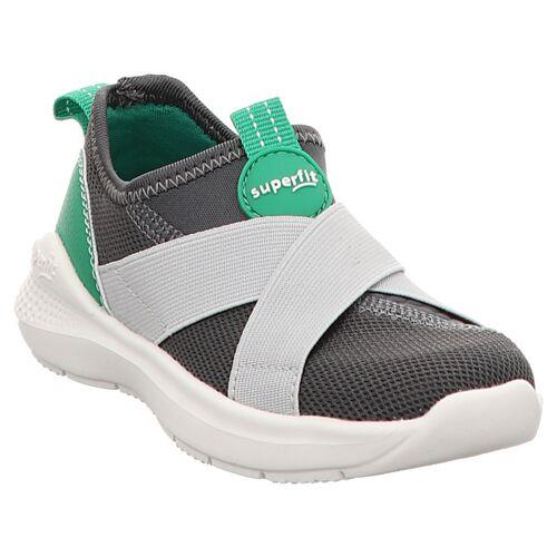 Superfit   Flash   1-000310   Hausschuh   Sneaker 33, grau   grün