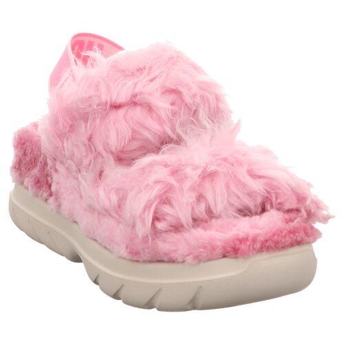 UGG   W Fluff Sugar Sandal   1119999   Sandale   Hausschuh 38, pink