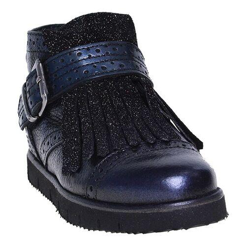 HIP   Pinocchio Mädchen Boots mit Fransen - blau  blau, 27