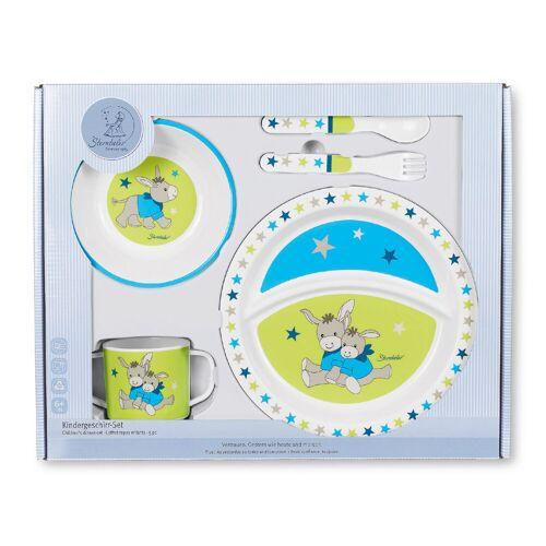 Sterntaler   6801731   Kindergeschirr-Set   Erik Esel blau, 1