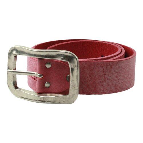 A.S. Fashion   Damen Gürtel   Schriftzug - rot   pink rot, 95