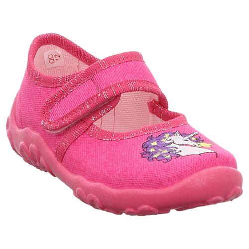 Superfit   Bonny   0-800282   Hausschuh   Einhorn 24, pink