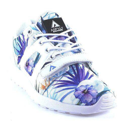 ASFVLT Sneaker - Super V - weiß   exotics parrots weiß, 37