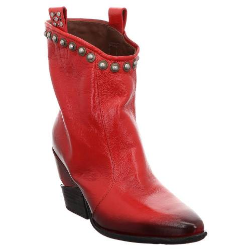 a.s.98 AS98   Schlupf Stiefelette   Cowboy - rot   blood rot, 38