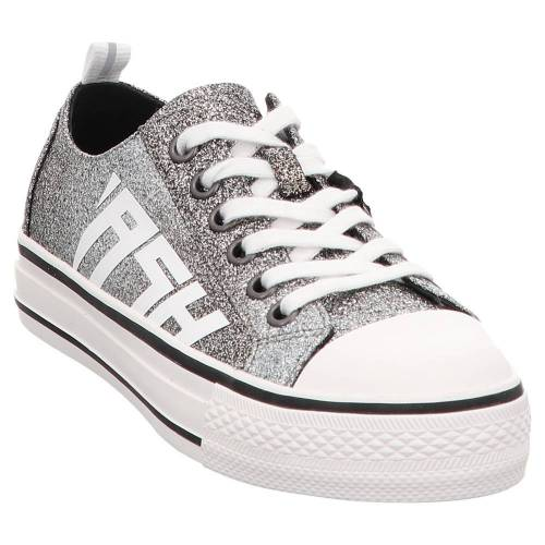 Ash   Vanda   Low Top Sneaker   Glitzer schwarz, 40