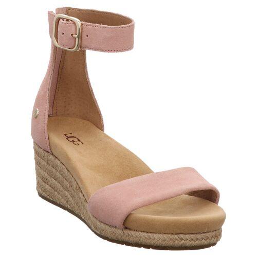 UGG   Zoe II   Keil Sandalette   1111075   Fesselriemchen 37, rosa
