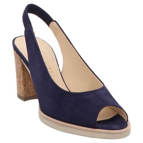 Gabor Fashion   41.751   Sling   Peeptoe Sandalette blau, 6.5