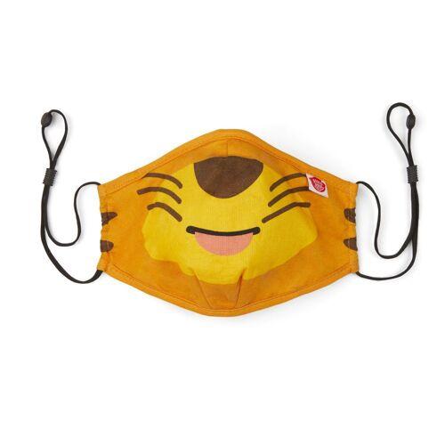 Affenzahn   Mund Nasen Maske Tiger   AFZ-FAM-001-001 gelb, 1