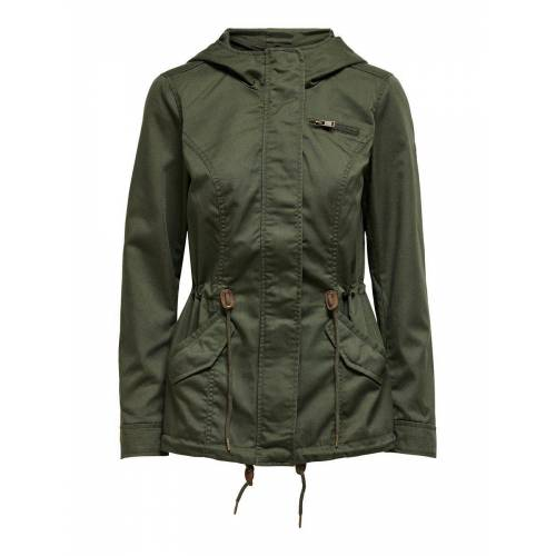 ONLY Übergangs Parka Damen Grün Female XS