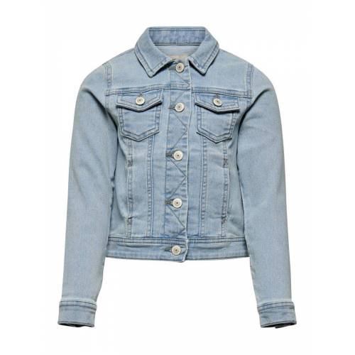 ONLY Leichte Jeansjacke Damen Blau Female 140