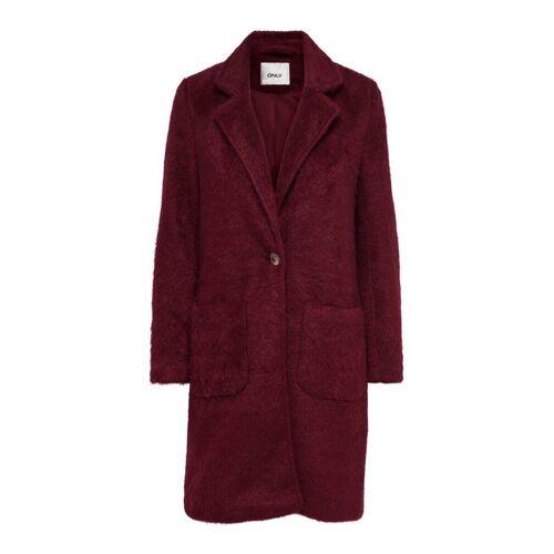 ONLY Klassischer Mantel Damen Rot Female S