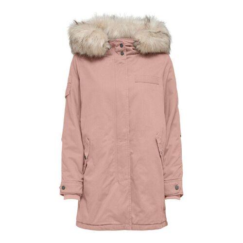 ONLY Leinen Parka Damen Pink Female L