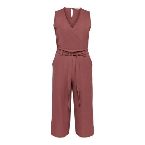 ONLY Culotte Jumpsuit Damen Rot Female 42