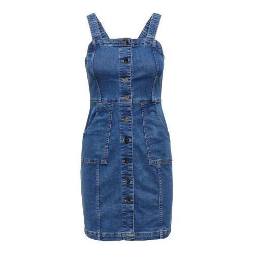 ONLY Körperbetont Kleid Damen Blau Female M