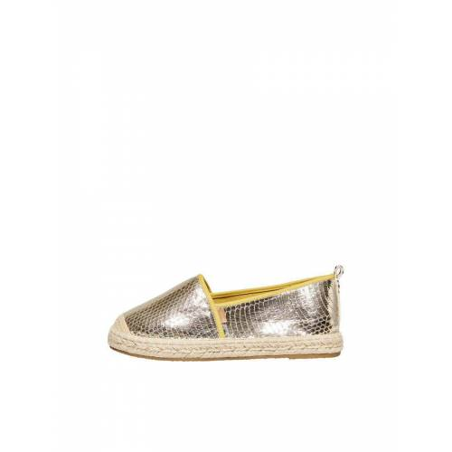 ONLY Metallic Espadrilles Damen Gold Female 38