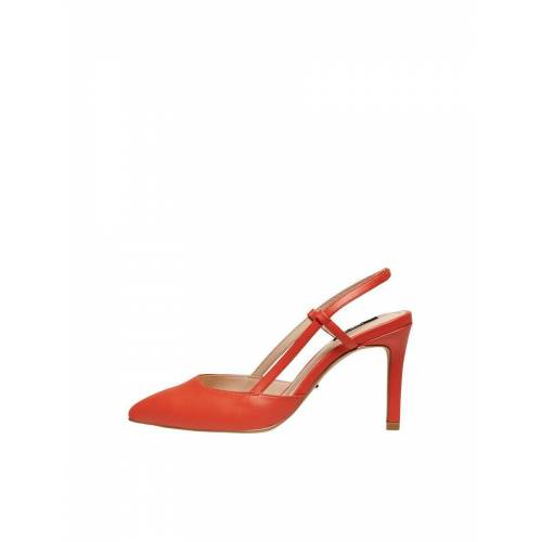 ONLY Hochhackige Pumps Damen Rot Female 39