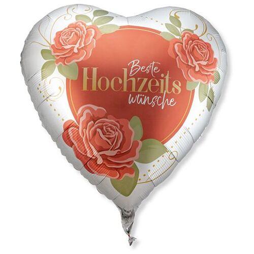 Valentins Riesenballon Beste Hochzeitswünsche
