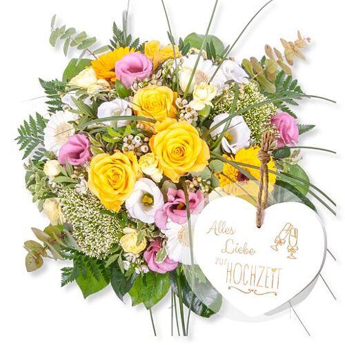 Valentins Florence und Vintage-Herz Alles Liebe zur Hochzeit