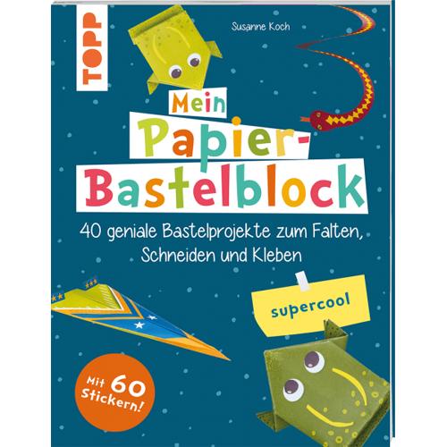 Mein Papier-Bastelblock - supercool
