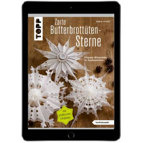 Zarte Butterbrottütensterne (eBook)