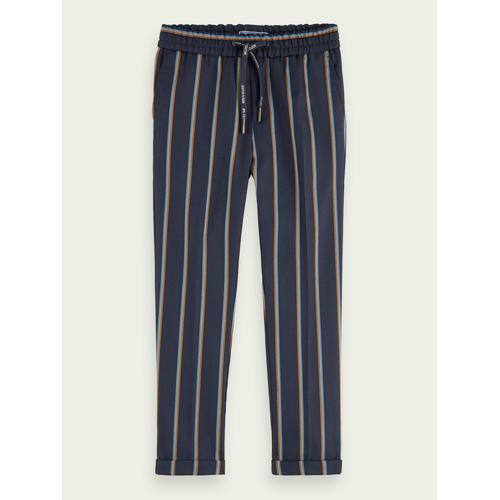 Scotch & Soda Lockere Hose mit Streifen   Slim Fit Blau Herren 8Scotch & Soda Lockere Hose mit Streifen   Slim Fit